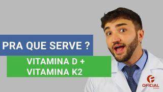 VITAMINA D + VITAMINA K2 - Oficial Farma